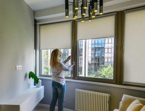 Причины любить рулонные шторы